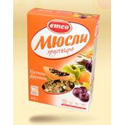 Мюсли Эмко хрустящие с кусочками фруктов фото