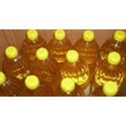 Масло подсолнечное нерафинированное в ПЭТ бутылке фото