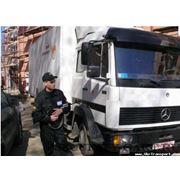 Охрана грузов. фото