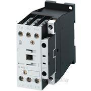 Контактор DILM25-10, Uк=24VAC, 25А (40A по AC-1), 1н.о. всп. контакт фото