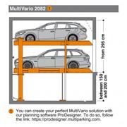 Системы парковочные стеллажные Multivario 2082 фото