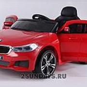 Детский электромобиль BARTY BMW 6 GT JJ2164 красный фото