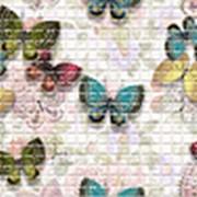 Панель ПВХ Мозайка Бабочки 957х480х0,3мм фото