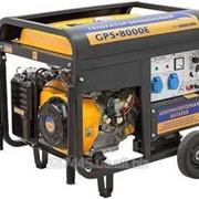 Бензиновый генератор Sadko GPS-8000E фото