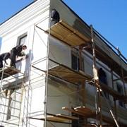 Утепление и облицовка фасадов зданий фото