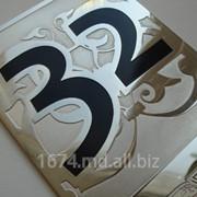 Производство номерков из металла на двери номерки на дверь фото