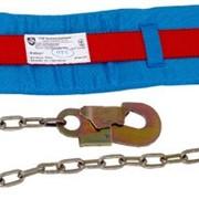 Пояс страховочный (предохранительный) ПП1-Г, безлямочный (со стропом – цепь) код 00829 фото