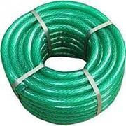 Шланг поливочный Д=12мм (20м) Гидроагрегат прозрачный зеленый фото
