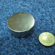 Неодимовый магнит 45х15 фото