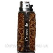 Футляр для зажигалки из кожи крокодила L01 Mix colors фото