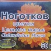 Ноготков цветки цельное сырье 50г. или 100г. в пачке фото