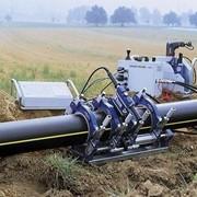 Подземная прокладка трубопровода фото