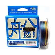 Плетеный шнур YGK VerogassFune x4 #1.5 0,205мм 150м фото