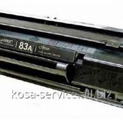 Заправка картриджа CF283A фото