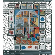 Noname Палитра. Карточки «Гарри и Салли: Наш новый дом». (Серия «Английский язык») арт. RN16992 фото