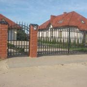 Ворота различной конструкции фото
