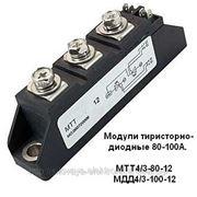 Модули тиристорные, оптотиристорные, диодные на токи до 100А. Минск фото