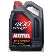 Моторное масло Motul 4100 Turbolight 10W-40 (4L) фото