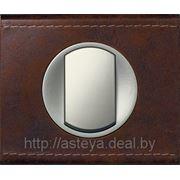 Legrand Celiane (натуральные материалы) кожа коричневая текстурная фото