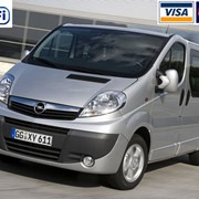 Аренда микроавтобуса Opel Vivaro (8 мест) с водителем Киев фото
