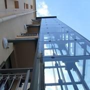 Металлокаркас для шахты лифта фото