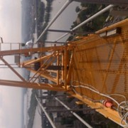 Монтаж/демонтаж башенного крана фото