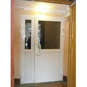 Дверь ПВХ фото