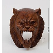 В2-0124 Маска Тигр 25 см (красное дерево) фото