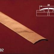 Порог одноуровневый с открытым креплением арт АПС 002 длина 1350 мм фото