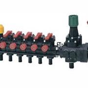 Блок управления на 5 секций с компенсационными калибровочными клапанами фото