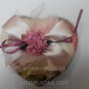 Коробка подарочная сердце ткань прованс фото