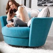 Круглое крутящееся кресло  фото