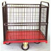 Тележка платформенная ТП-13 для транспортировки мелких и не упакованных грузов. фото