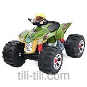 Квадроцикл детский зеленый JS 318-10 фото