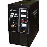 Сварочный полуавтомат инверторного типа MIG 300Y Профи (380В, 50-300А, ПВ 60% при I max, 11 кВА, 35 кг) фото