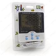 Термометр электронный HTC 2A ( 2 температуры+влажность) фото