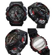 Часы G-shock 110RG, черные с золотом фото