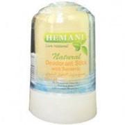 Дезодорант натуральный Кристалл Алунит с Турмериком, Hemani, 70 гр. фото