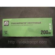 Трансформатор электрон.GET-10 200Bт 220/12в ASD фото