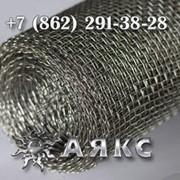 Сетки 2.8х2.8х0.9 тканые низкоуглеродистые № 2.8 2-2.8-09 НУ ГОСТ 3826-82 стальные ячейка 2.8х2.8 фото
