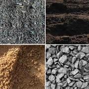 Доставка песка, щебня или других сыпучих смесей. фото