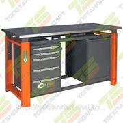 Верстак слесарный TOOLBOX 1800 TB5-TB0 фото