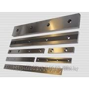 Ножи для гильотины Н313 500х120х50 фото