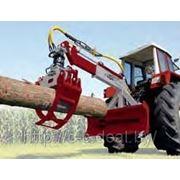 HRZ Fix-AS — Трелевочный грейферный захват ствола древесины BGU (Германия) фото