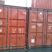 Морской металлический контейнер 6м, 20 фут фото
