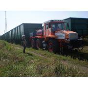 Мотовоз маневровый ММТ-3 на базе трактора ХТА-300 (локомобиль, тяговый модуль, маневровый тягач) фото