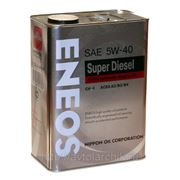 Eneos Super Diesel 100% Synthetic CH-4 5W-40 4л.
