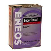 Eneos Super Diesel Semi-synthetic CG-4 10W-40 4л. фото