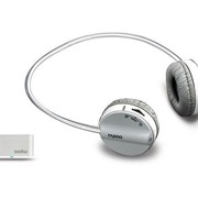 Коммутатор Rapoo Headphone Wireless H3070 Fashion 3.5mm jack and PC USB dual input mode Grey фото