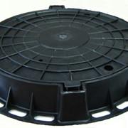 Люк полимерно-песчаный тип ТМ 57 кг фото